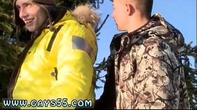 Gay sexy guy in public toilet movie Snow Bunnies Anal Sex