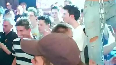 Juicy homosexual orgy full of cum