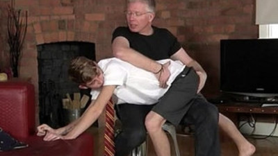 German porn trailer Spanking The Schoolboy Jacob Daniels