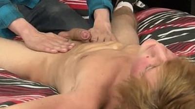 Bareback twink gay sex A Ball Aching Hand Job!