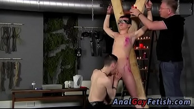 Emo boy bondage and gay celebrity Inexperienced Boy Gets Owned
