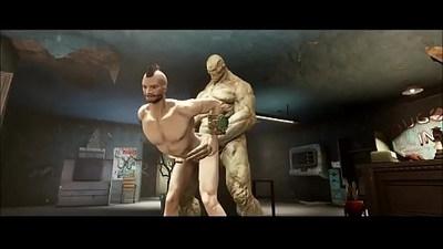Fallout Strong Smash 3d gay games