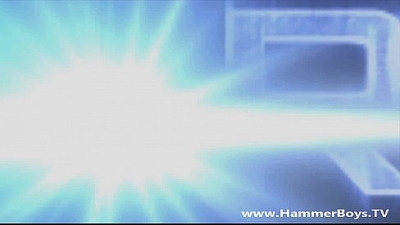 Franta Guss play on cam with dildo from Hammerboys TV