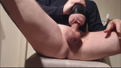 My solo Pink lady deep fucking and messy spurting load