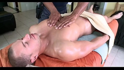Sexy massage for fellow