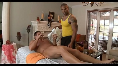 Homosexual body massage